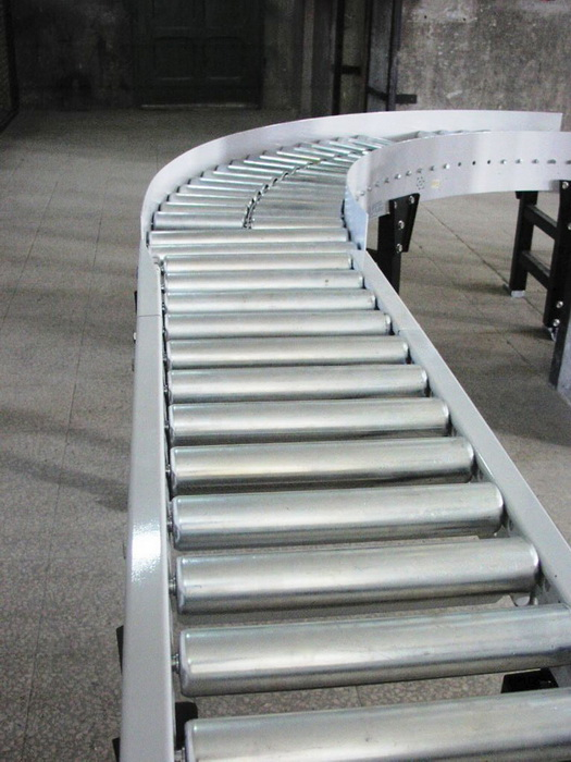 QRC Curved Gravity Roller Conveyors