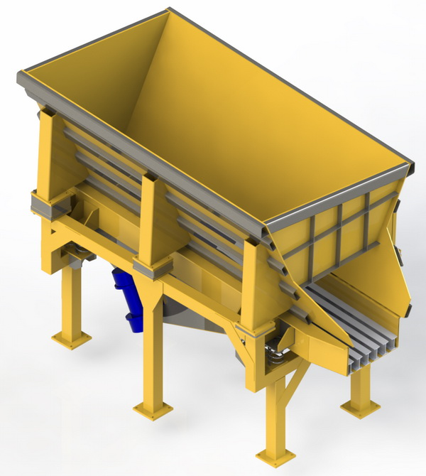VMS Electro-Mechanical Vibrating Conveyors